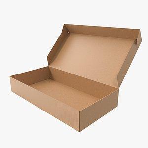 Cardboard box 01 3D