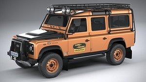 3D land rover defender model