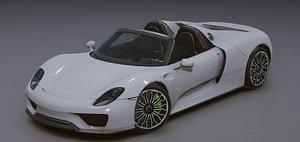 Porsche 918 model