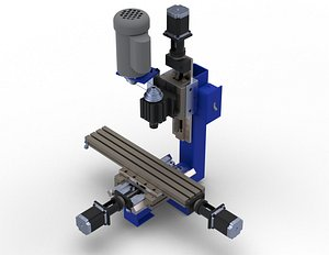 3D Taig-2019CNC-Micro-Mill model