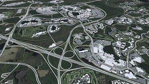 3D Disney World  Florida USA model