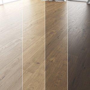 3D Wood Floor Set 11 model