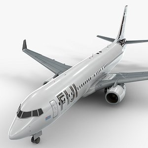 boeing 737-8 fiji airways 3D