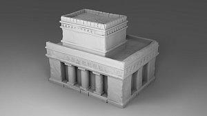 architecture build 3D model
