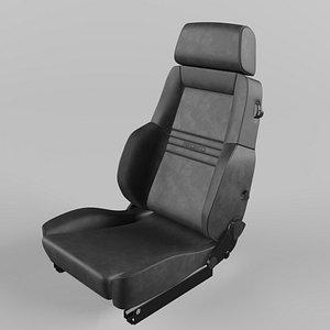 3D RECARO Expert Comfort Grey Seat