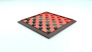Checkers Print 3D model