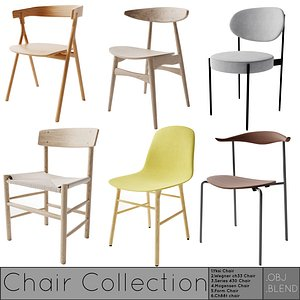 3D Chair CollectionV4 model