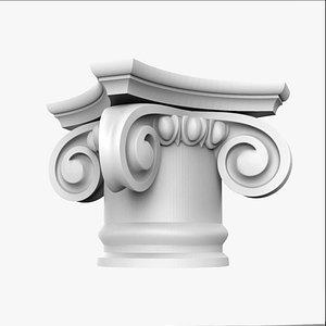 3D capital ionic