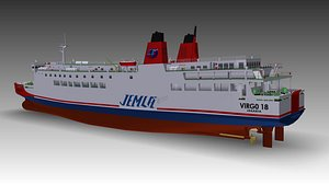ferry ship model