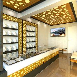 3D interior jewelry