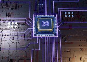 3D 5G Chip CPU Processor