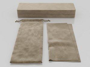 case bag tissue 3D model