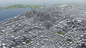 Toronto Canada 3D model