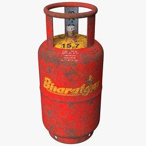 gas cylinder rusty model