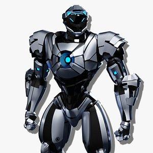 sci-fi robotic character games 3D model