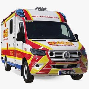 3D ASB Mercedes Sprinter Ambulance