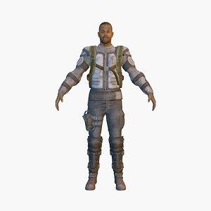 banditv7 rigged 3D model