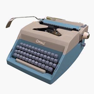 3D typewriter type writer