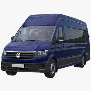 3D model Bus VW Crafter50 2Gen L5H4