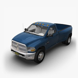 2009 Dodge Ram RegCab 3500 3D model
