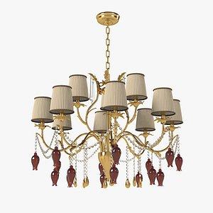 chandelier lamp copenlamp 3D model