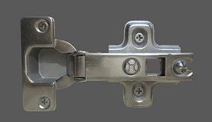 3D hinge model