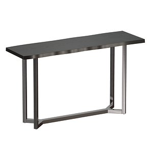 3D slab edges console table model