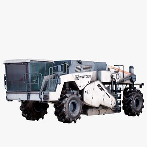 Road Recycler And Soil Stabilizer Vehicle Wirtgen WR 240 PBR 3D