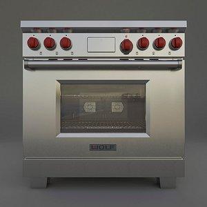 3D model appliances subzero