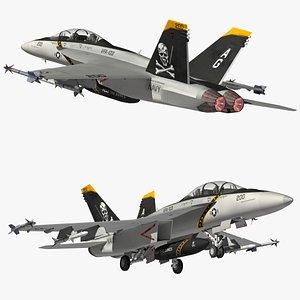 F18 Super Hornet JR 3D model