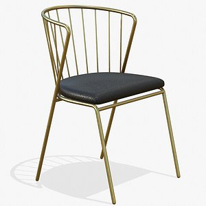 Dining Chair Luxury 3D model