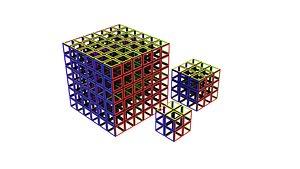 3D Rubiks Cube Skeletons Set
