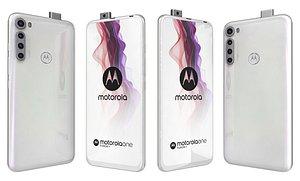 Motorola One Fusion Moonlight White 3D model