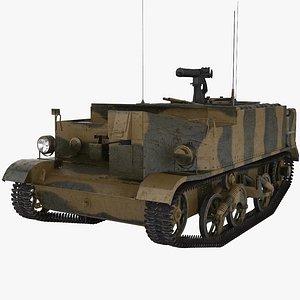 3D model Universal Carrier Bren Gun Carrier