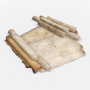 old parchment 3D