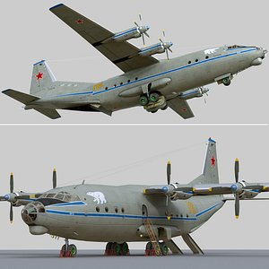 Antonov An-12B model