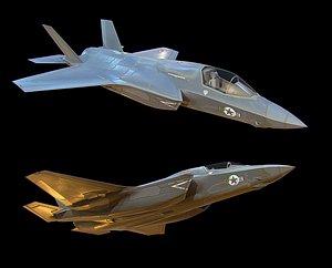 Fighter F-35 model