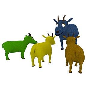 goat toon 3D