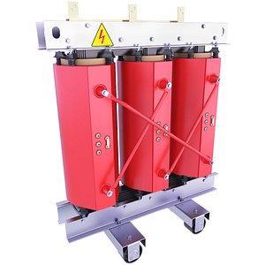 3D model Resin Dry Transformer 67