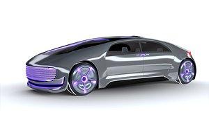 3D autonomous concept car