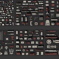 SpaceshipKit A1 - modeling kit