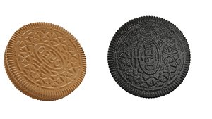 biscuits oreo cookie 3D model