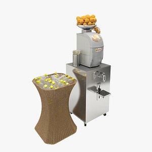 OranFresh HR SELF SERVICE SUPERMARKET Citrus Juicer 3D model