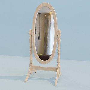 3D juliet floor mirror