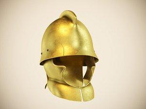 3D thracian helmet
