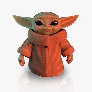 baby yoda model