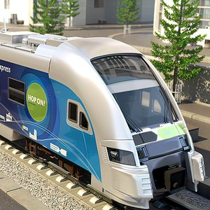 Speed Train Europe Express model