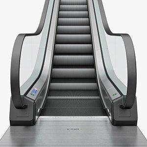 3D escalator kone travelmaster