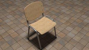 3D canteen chair