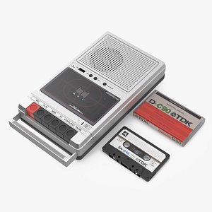 3D QFX RETRO 39 Shoebox Recorder with TDK Tape and Box Set